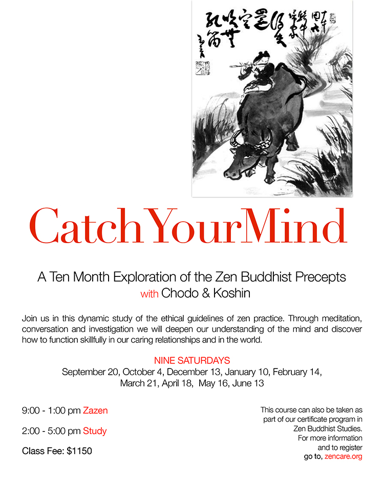 Catch-Your-Mind | New York Zen Center For Contemplative Care